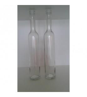 0,5 literes svéd hosszúnyakú pálinkás üveg