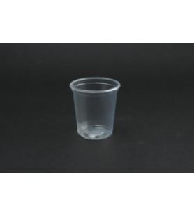Műanyag pohár 1 dl víztiszta