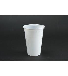 Műanyag pohár 2 dl fehér